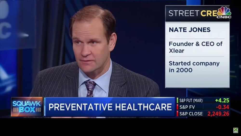 Squawk Box interview with Nate Jones screenshot