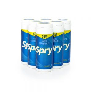 Spry Peppermint Gum 27 count