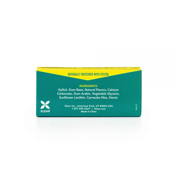 Spry Wintergreen Gum Blister Pack ingredients
