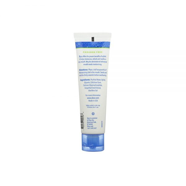 Spry Original Moisturizing Mouth Gel ingredients directions