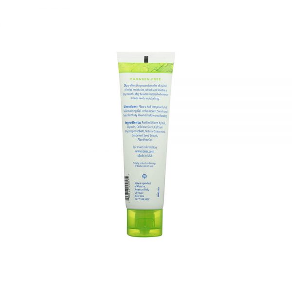 Spry Spearmint Moisturizing Mouth Gel ingredients directions
