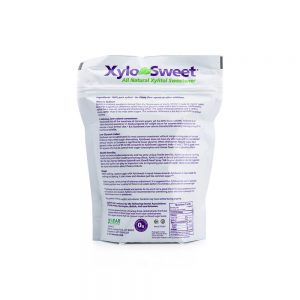 XyloSweet 1 lb bag nutrition panel