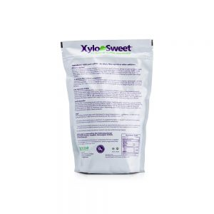 XyloSweet 3 lb bag nutrition panel