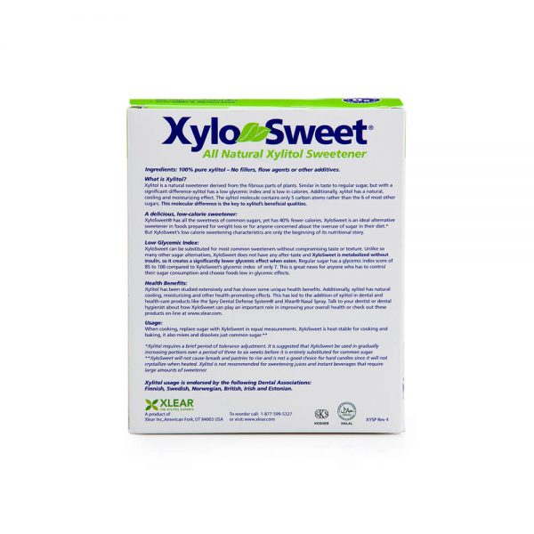 XyloSweet 4 gram 100 count packets